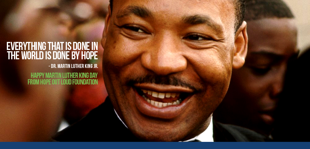 Mlk Day Hope Out Loud
